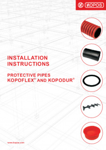 Installation instructions - Protective pipes KOPOFLEX® and KOPODUR®