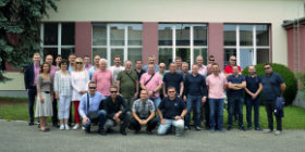 Croatian customers visit KOPOS