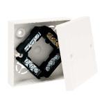 LK 80/3 HB - krabice odbočná s víčkem VLK 80 a svorkovnicí S-66