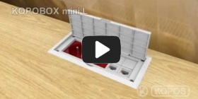 Embedded thumbnail for Installation instruction multipurpose wiring box KOPOBOX mini L